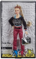 Wholesalers of Barbie X Keith Haring Doll toys image
