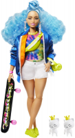 Wholesalers of Barbie Extra Blue Afro Hair Doll toys image 2
