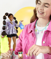 Wholesalers of Barbie Xtra Pigtails & Bobble Hair Ties toys image 3