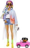 Wholesalers of Barbie Xtra Rainbow Braids Doll toys image 2