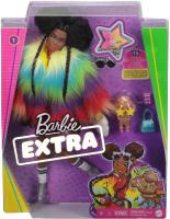 Wholesalers of Barbie Xtra Rainbow Coat Doll toys image