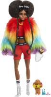 Wholesalers of Barbie Xtra Rainbow Coat Doll toys image 2