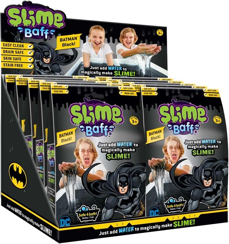 Wholesalers of Batman 150g Black Slime Baff toys