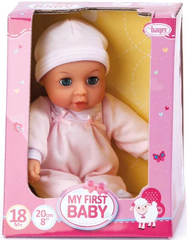 Wholesalers of Bayer Baby Doll 20cm Assorted toys