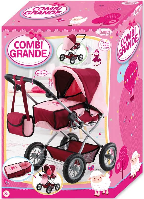 Wholesalers of Bayer Dolls Pram Combi Grande toys
