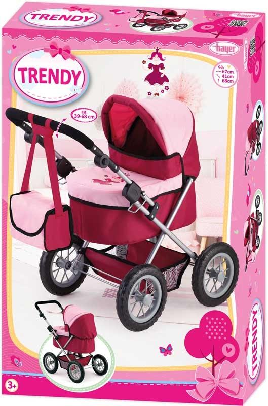 Wholesalers of Bayer Dolls Pram Trendy toys