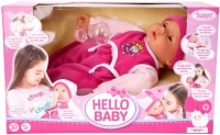 Wholesalers of Bayer Hello Baby Function Doll 46cm toys image