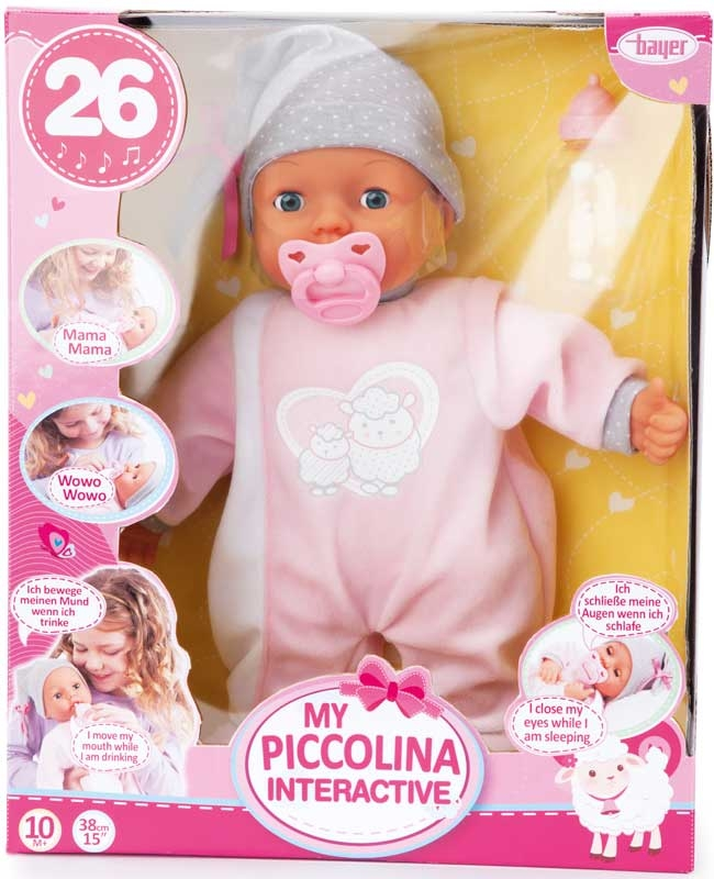 Wholesalers of Bayer My Piccolina Interactive 38cm toys