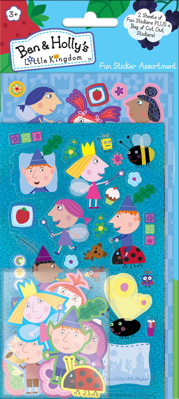 Wholesalers of Ben & Hollys Little Kingdom Assortment Pack Stickers toys