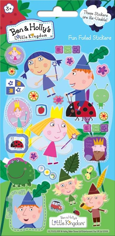 Wholesalers of Ben & Hollys Little Kingdom Foil Stickers toys