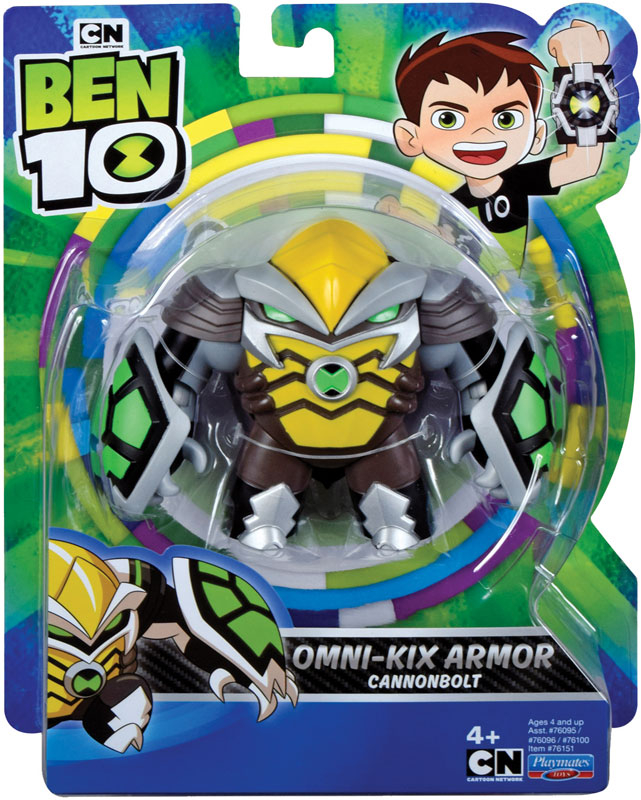 Wholesalers of Ben 10 Action Figure - Cannonbolt Omni Kix toys