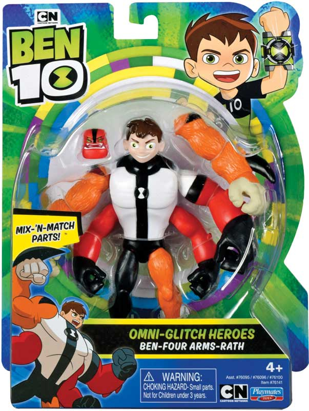Wholesalers of Ben 10 Action Figure - Four Arms Omni Glitch toys