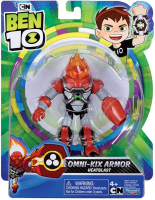 Wholesalers of Ben 10 Action Figure - Heatblast Armor toys image