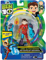 Wholesalers of Ben 10 Action Figure - Heatblast Omni Glitch toys image