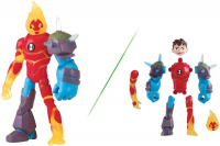 Wholesalers of Ben 10 Action Figure - Heatblast Omni Glitch toys image 3