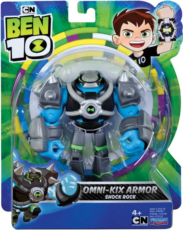 Wholesalers of Ben 10 Action Figure - Shock Armor toys