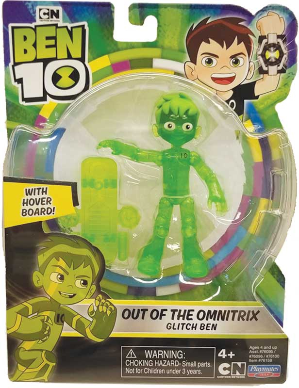 Wholesalers of Ben 10 Action Figure Translucent - Ben 10 Glitch toys