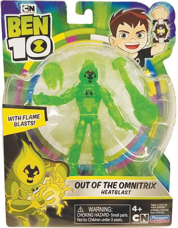 Wholesalers of Ben 10 Action Figure Translucent - Heatblast toys