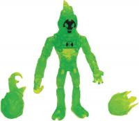 Wholesalers of Ben 10 Action Figure Translucent - Heatblast toys image 2