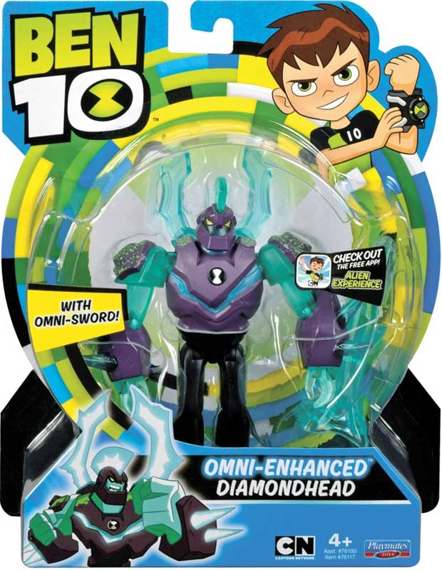 Wholesalers of Ben 10 Action Figures - Omni Enhanced Diamondhead toys