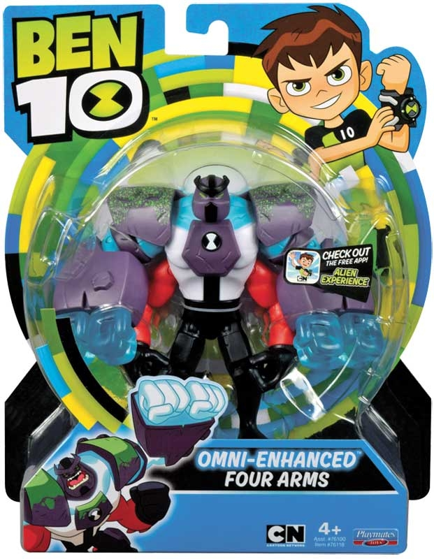 Wholesalers of Ben 10 Action Figures - Omni Enhanced Four Arms toys