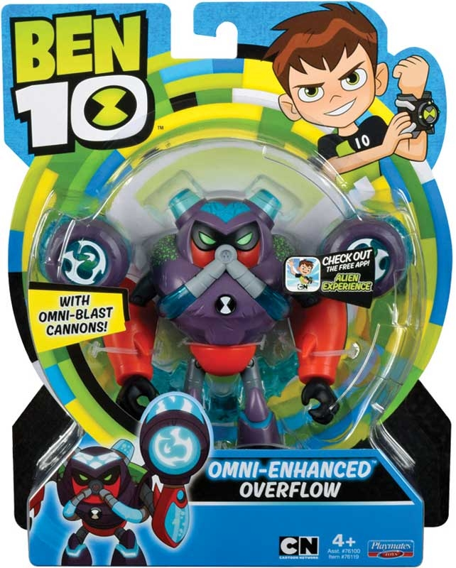 Wholesalers of Ben 10 Action Figures - Omni Enhanced Overflow toys