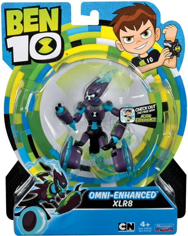 Wholesalers of Ben 10 Action Figures - Omni Enhanced Xlr8 toys