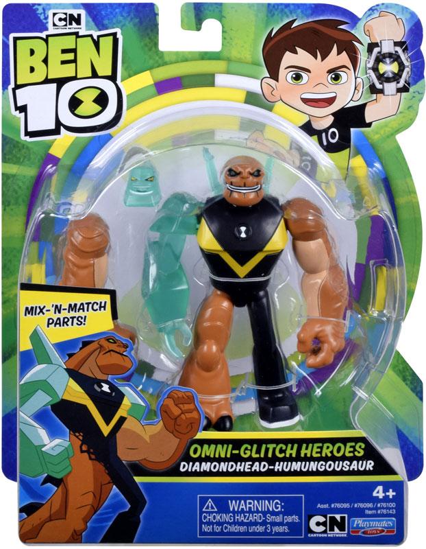 Wholesalers of Ben 10 Action Figures - Omni Glitch Diamondhead - Humungousa toys