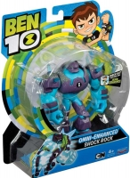 Wholesalers of Ben 10 Action Figures - Shock Rock (new Dna Energy Alien) toys image