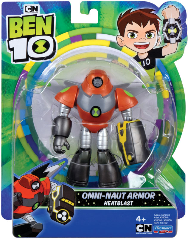 Wholesalers of Ben 10 Action Figures - Space Armor Heatblast toys