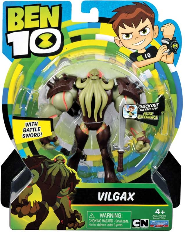Wholesalers of Ben 10 Action Figures - Vilgax toys
