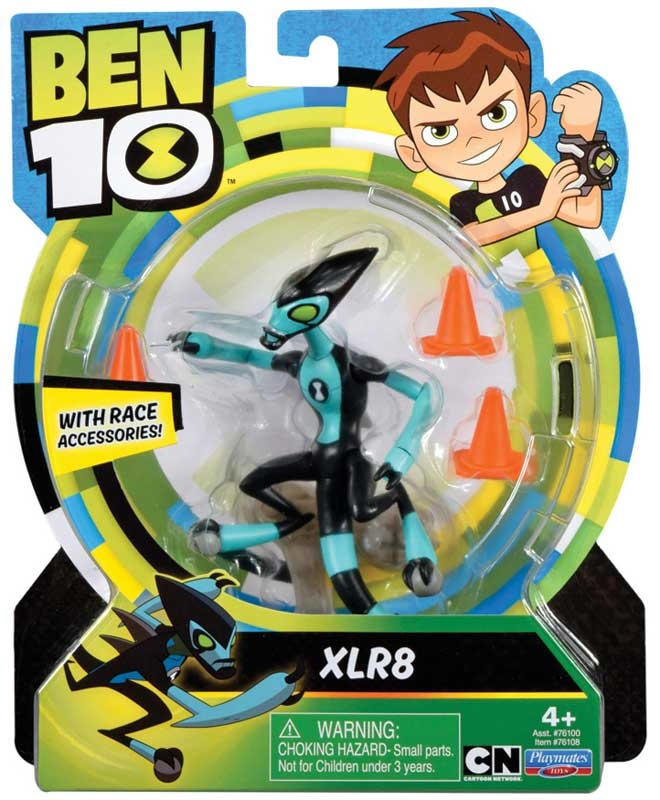 Wholesalers of Ben 10 Action Figures - Xlr8 toys