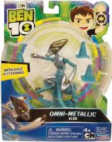 Wholesalers of Ben 10 Action Figures Asst - Metallic Theme toys image