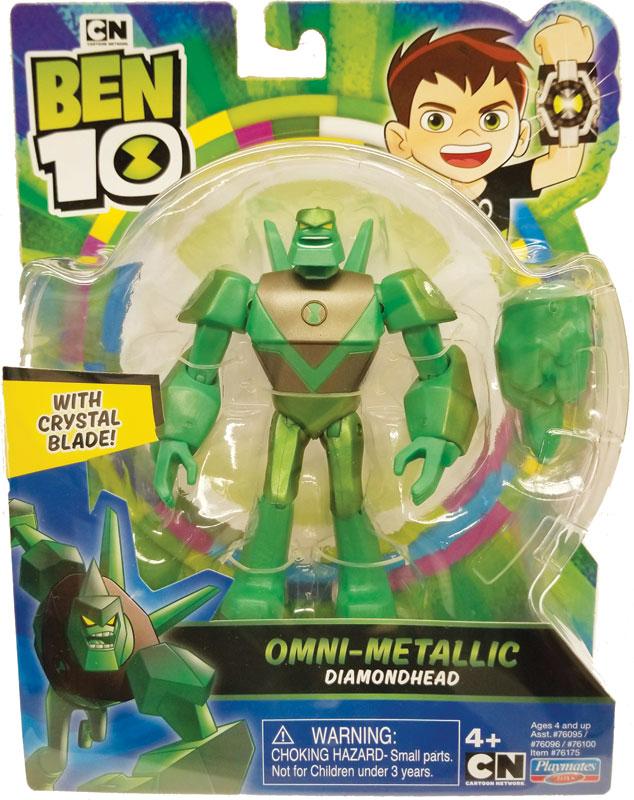 Wholesalers of Ben 10 Action Figures Metallic Theme - Diamond Head toys