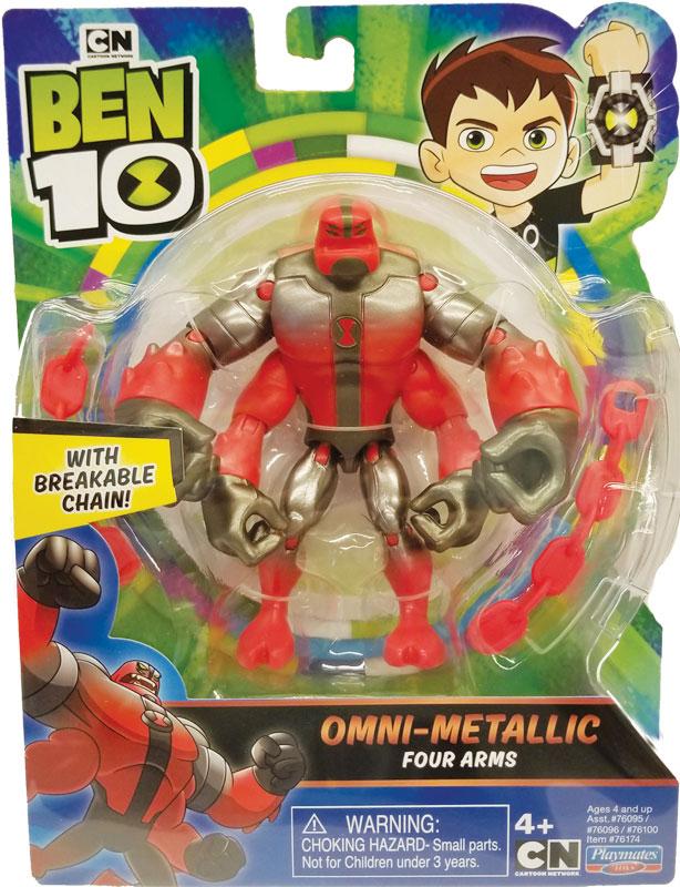 Wholesalers of Ben 10 Action Figures Metallic Theme - Four Arms toys