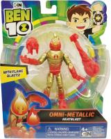 Wholesalers of Ben 10 Action Figures Metallic Theme - Heatblast toys Tmb