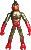 Wholesalers of Ben 10 Action Figures Metallic Theme - Heatblast toys image 2