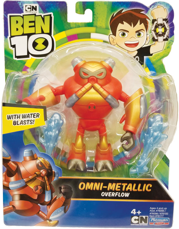 Wholesalers of Ben 10 Action Figures Metallic Theme - Overflow toys