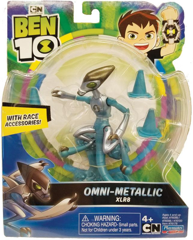 Wholesalers of Ben 10 Action Figures Metallic Theme - Xlr8 toys