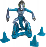 Wholesalers of Ben 10 Action Figures Metallic Theme - Xlr8 toys image 2