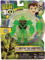 Wholesalers of Ben 10 Action Translucent Figure - Diamonhead toys image