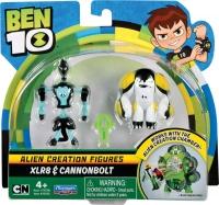 Wholesalers of Ben 10 Alien Creation Mini Figures 2 Pack Asst toys image