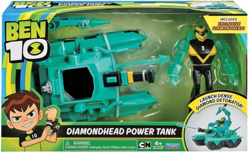 Wholesalers of Ben 10 Alien Vehicle - Diamond Head Power Tank toys
