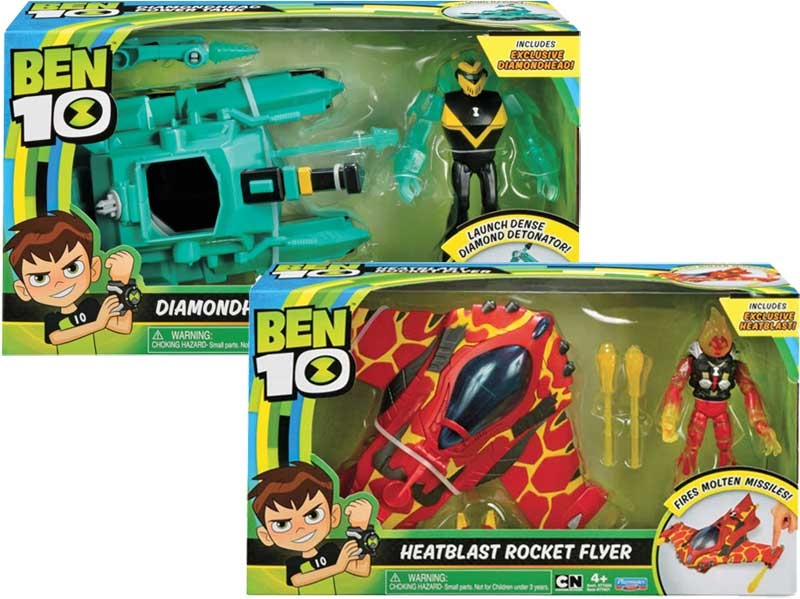 Wholesalers of Ben 10 Alien Vehicle Asst Wave 1 toys