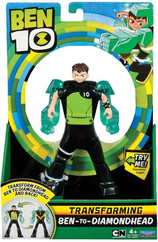 Wholesalers of Ben 10 Ben To Alien Transforming Figure - Ben-to-diamondhead toys