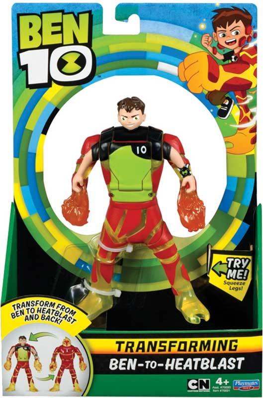 Wholesalers of Ben 10 Ben To Alien Transforming Figure - Ben-to-heatblast toys