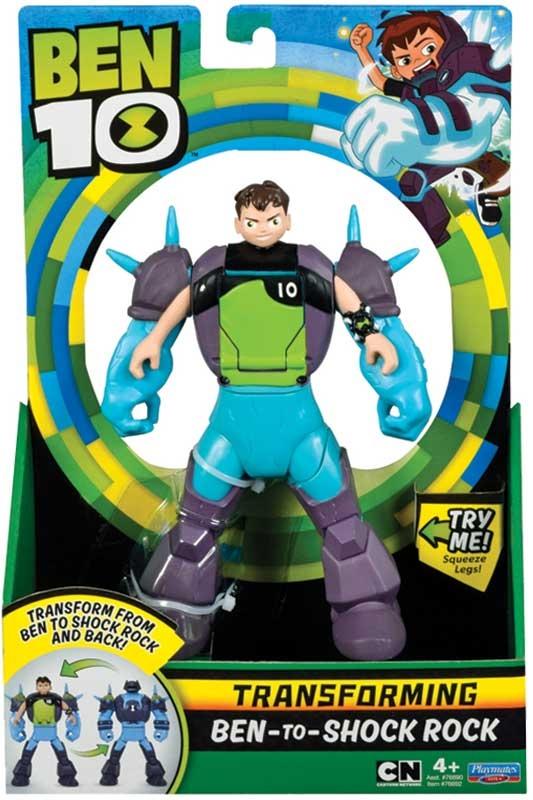 Wholesalers of Ben 10 Ben To Alien Transforming Figure - Ben-to-shock Rock toys