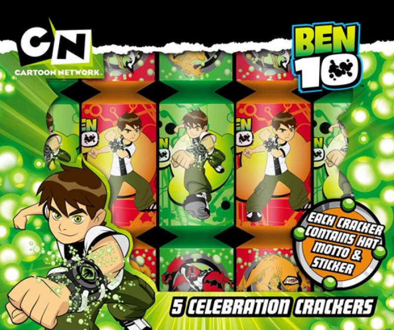 Wholesalers of Ben 10 Celebration Crackers toys