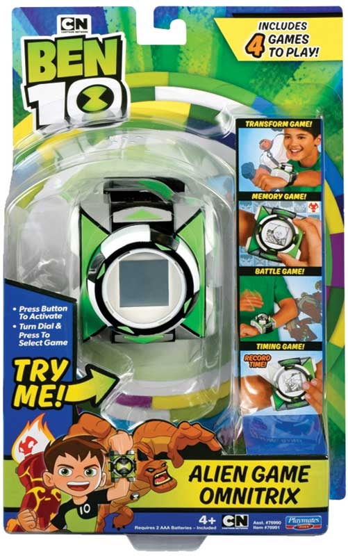 Wholesalers of Ben 10 Deluxe Game Omnitrix Eng Ic toys