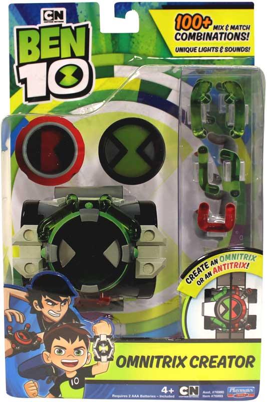Wholesalers of Ben 10 Deluxe Omnitrix Creator Set toys